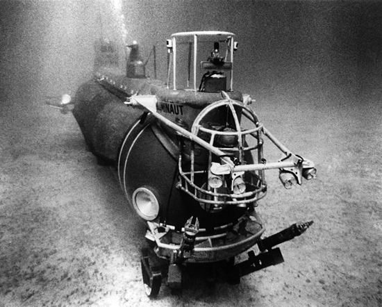 DSV Aluminaut, circa 1966.