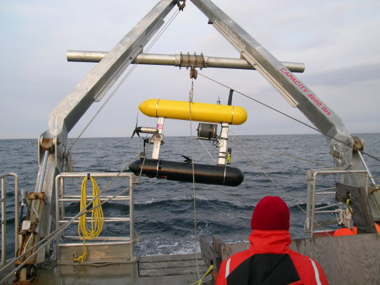 SeaBED AUV deployment