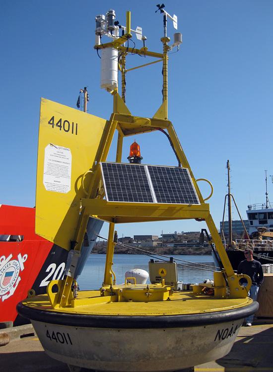 first JA/NDBC buoy