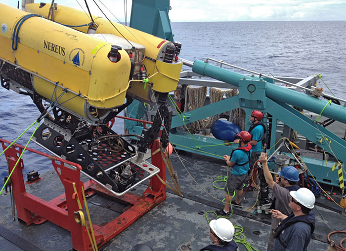 Nereus recovered in Guam