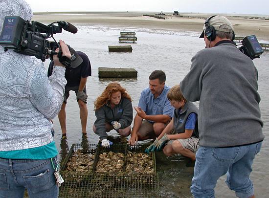 fisheries specialists on aqua kids