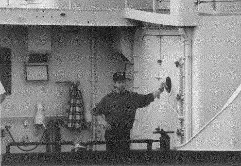 Oceanus Chief Engineer Richard