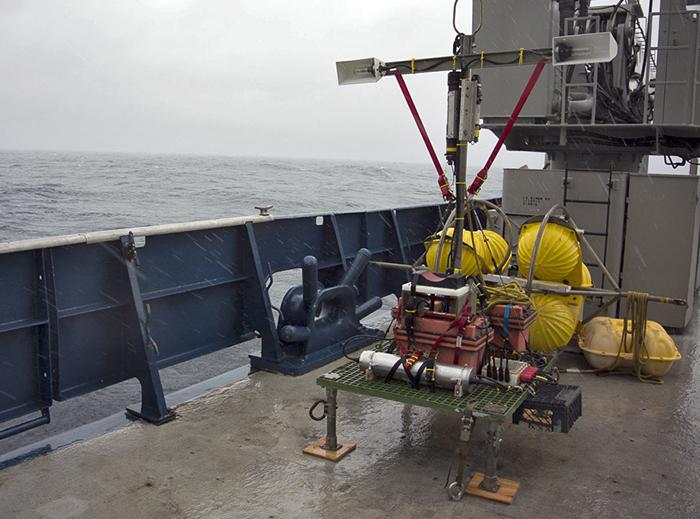 Deep-sea timelapse camera