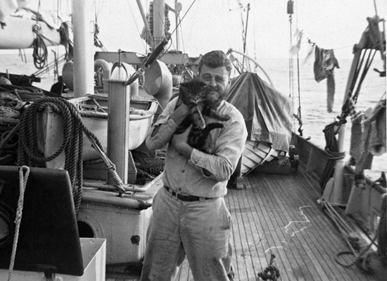 don fay with cruise cat
