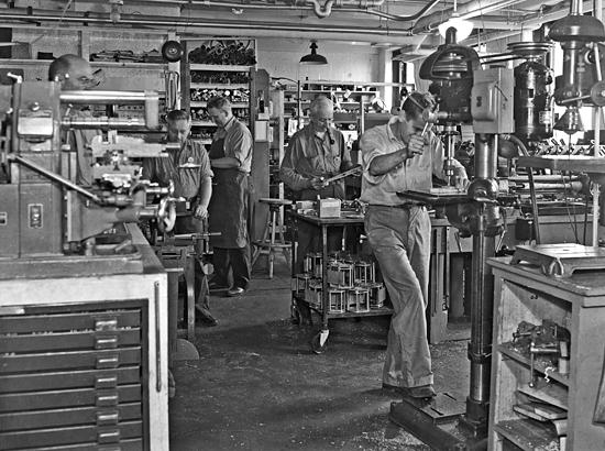 whoi machine shop
