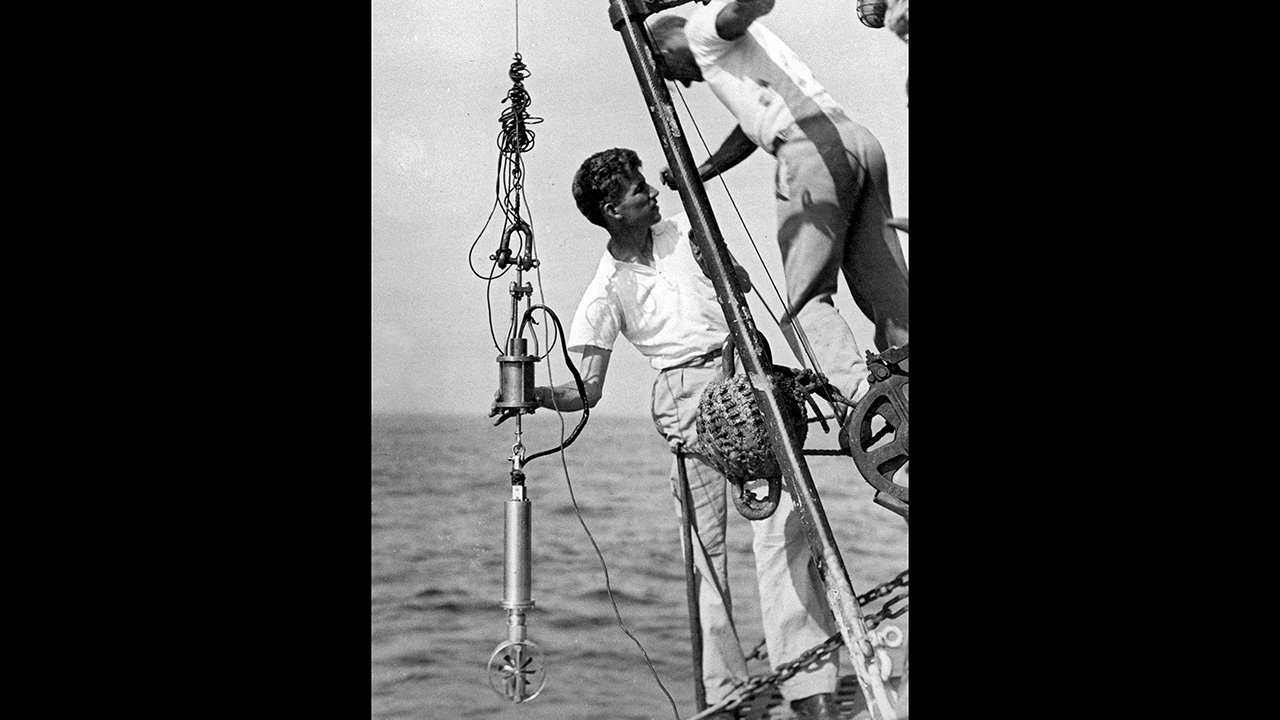 Oceanographic trailblazers