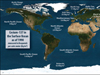 Marine radiation around the world