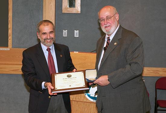Ketchum Award to John Farrington