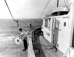 collect samples during a Station S cruise