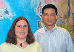 Emily Van Ark and Jian Lin