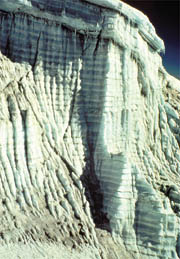 Ice sheets reveal annual layers