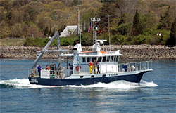 Cape Cod Canal to sample waters