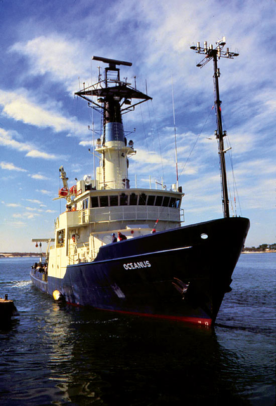 Research vessel Oceanus