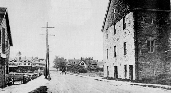 Water Street, Woods Hole, early 1900s