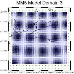 MM5 fine grid