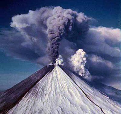 Klyuchevsky volcano