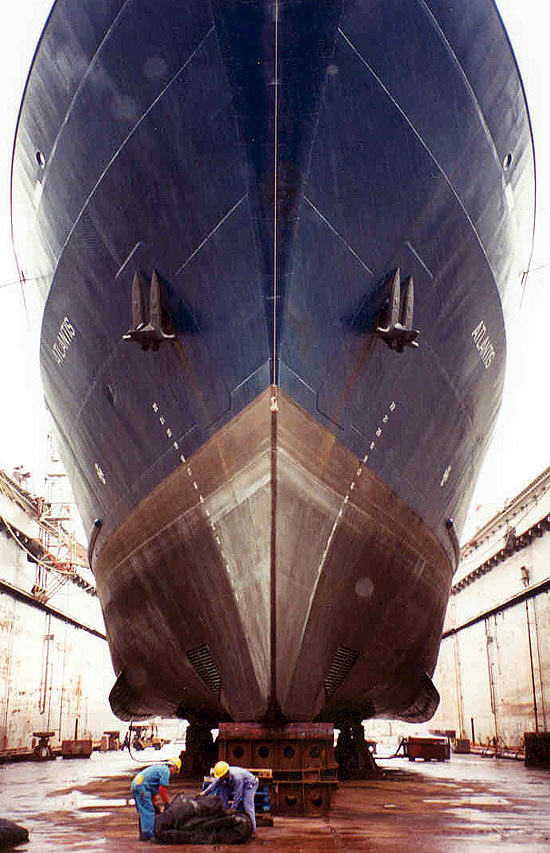Atlantis dry dock