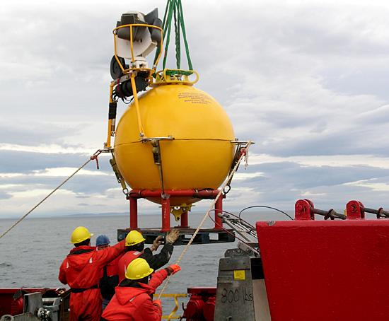 sub-surface mooring