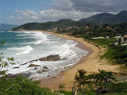 Estalerinho Beach, Santa Catarina, Brazil