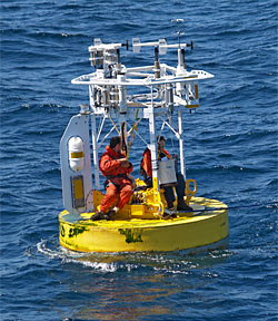 Moorings Amp Buoys Woods Hole Oceanographic Institution