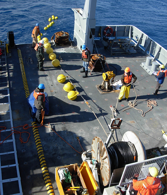 dimes project mooring deployment