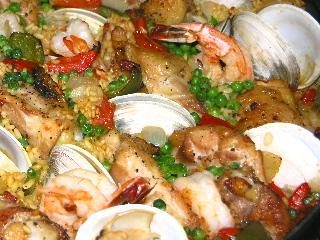 Grill-top Paella