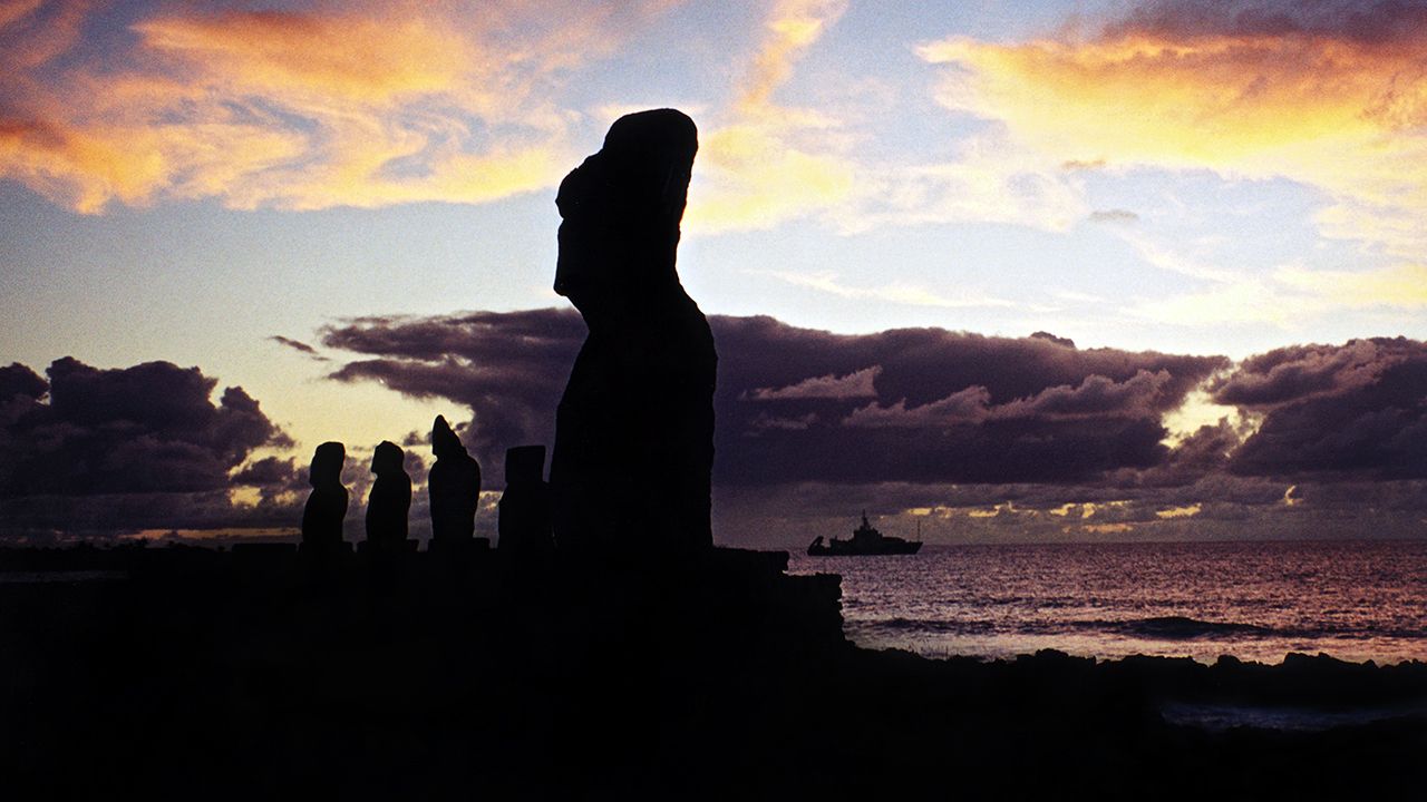 Atlantis at Easter Island