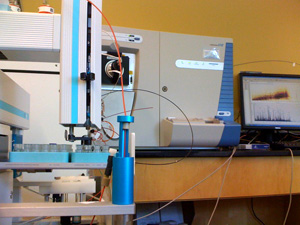Linear Trap Mass Spectrometer.