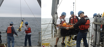 Recent tests in Buzzards Bay demonstrating coordinated AUV-ASV operations.