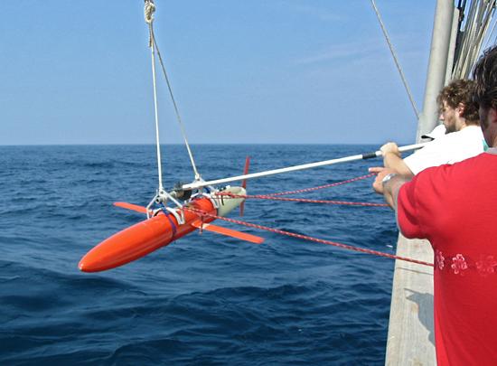spray glider deployment
