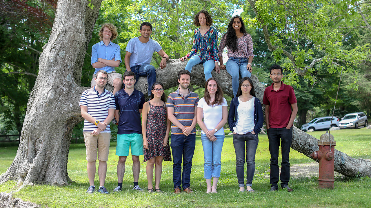 2018 WHOI Geophysical Fluid Dynamics Program students