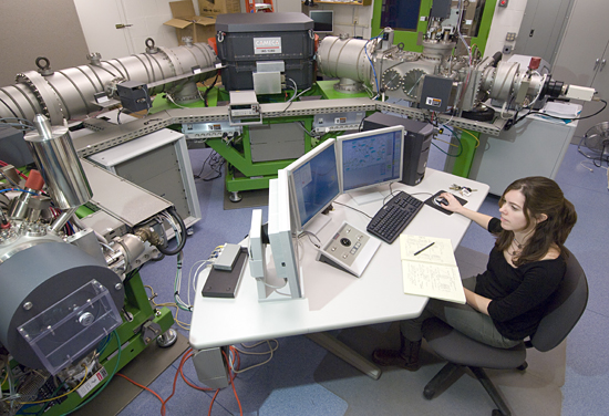 alison shaw using ion microprobe