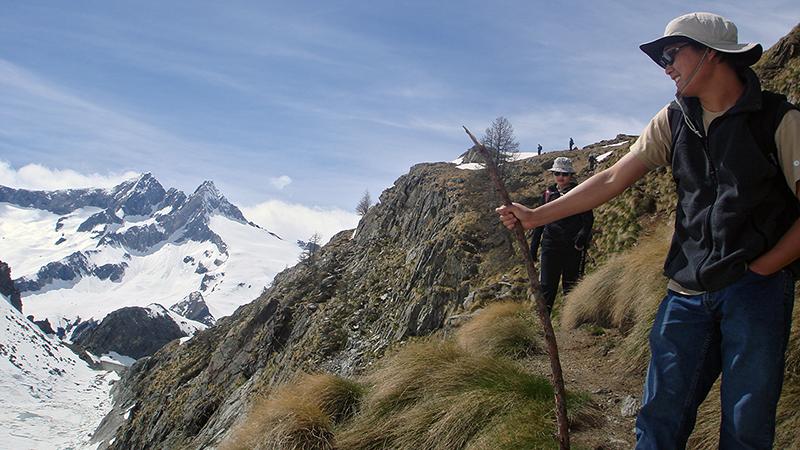 Geodynamics field trip to Italian Alps.