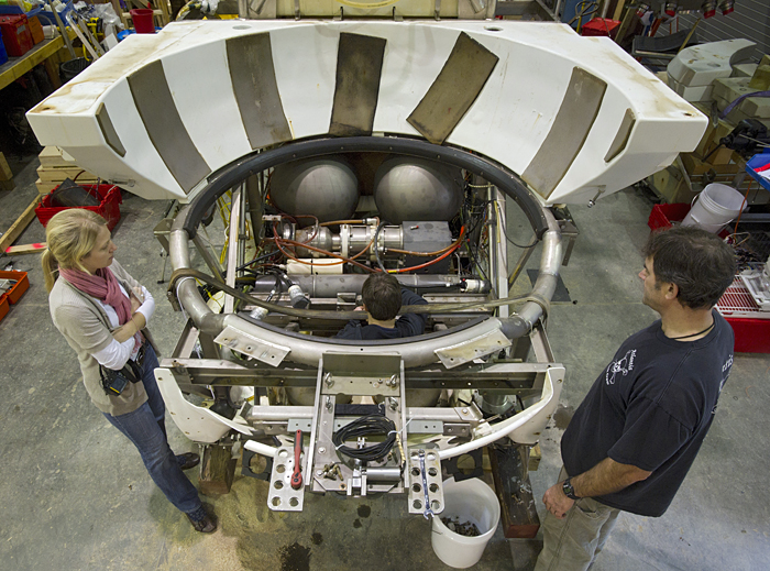 Alvin disassembly