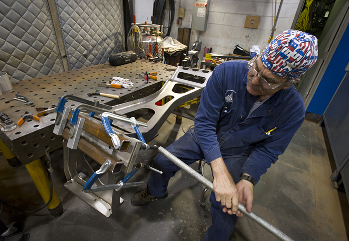 Image Of The Day The Art Of Welding Woods Hole