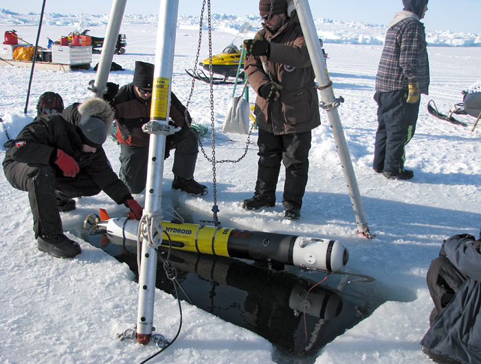 REMUS Icebot deploys near Barrow