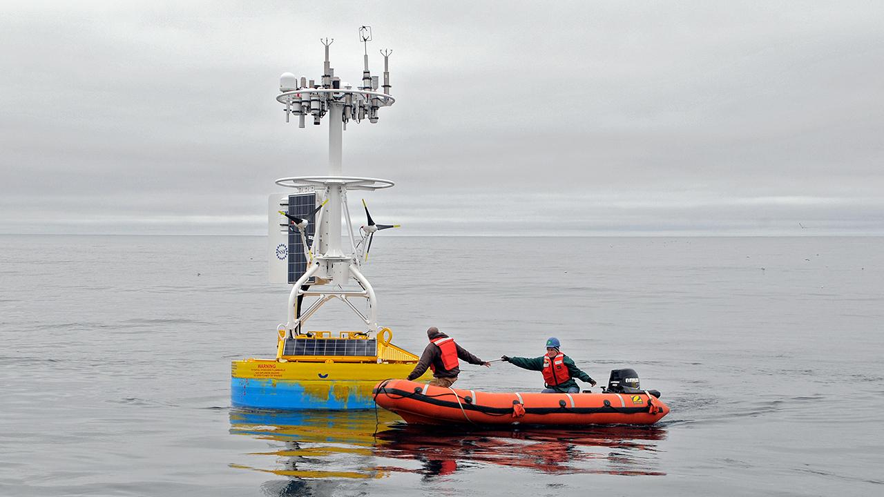 Irminger Sea Array buoy recovery