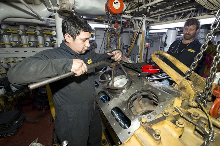 Atlantis engine overhaul