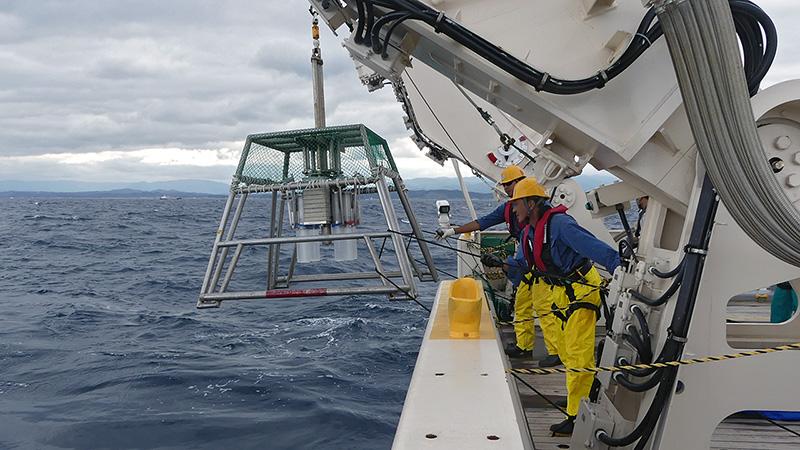 Research vessel Shinsi Maru