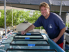 Konrad Hughen at Mote Marine Lab on Summerland Key.