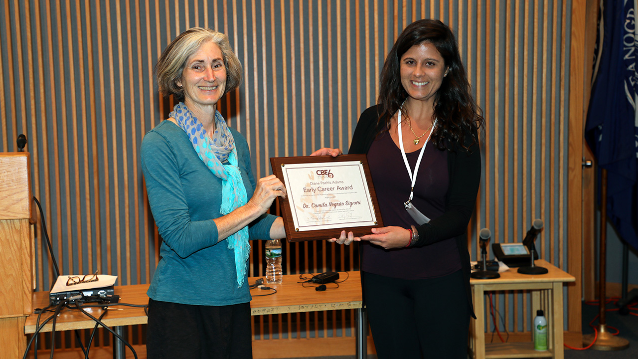 Diane Poehls Adams Early Career award