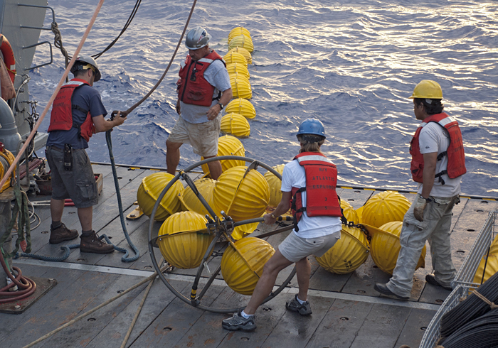DynAMITE mooring recovery