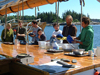 KP ops during the 2007 Geodynamics Field Trip to Penobscott Bay, Maine.