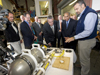 Rich Camilli shows TETHYS to Gov. Patrick and others