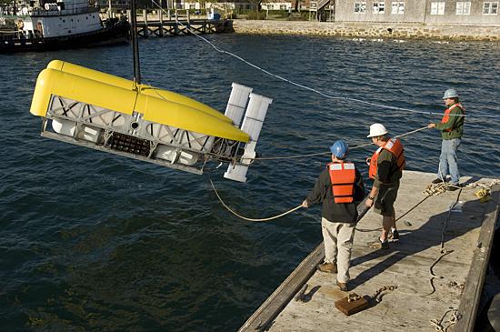 nereus deployment off dock