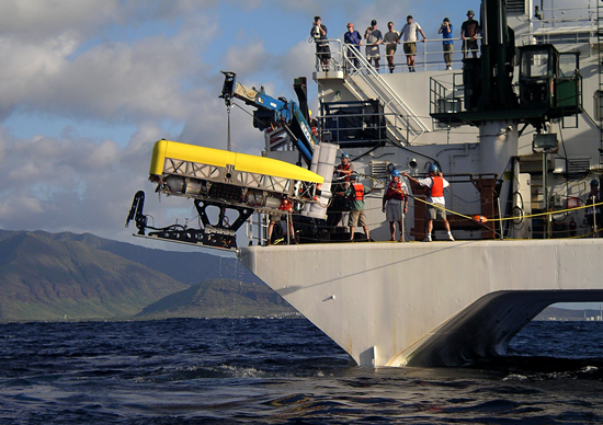 testing in the waters off Hawaii