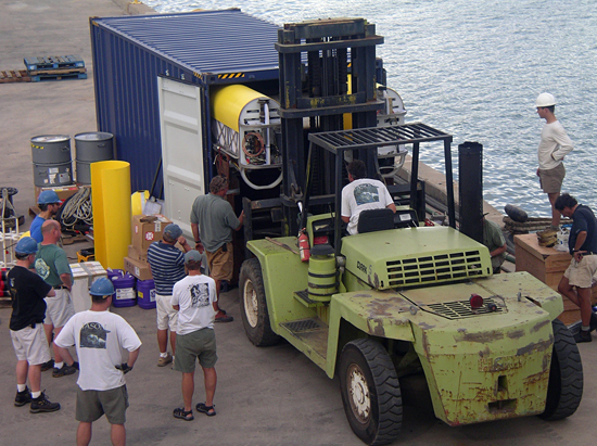 HROV Nereus testing in Hawaii.