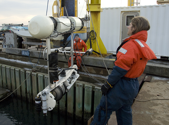 testing of seabed
