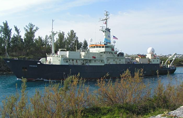Knorr leaving Bermuda