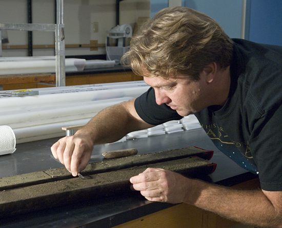 Konrad Hughen is a paleoclimatologist in the WHOI Department of Marine Chemistry and Geochemistry.